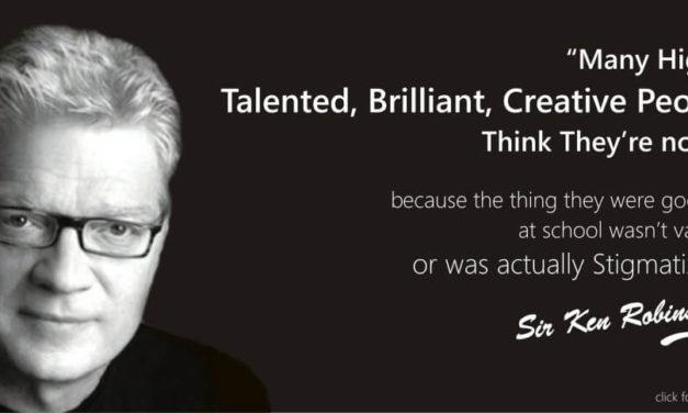 « Tous les enfants ont un talent fabuleux… » by Ken Robinson