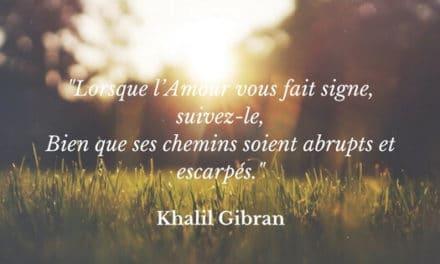 L'Amour selon Khalil Gibran