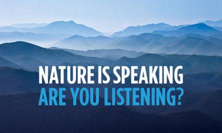 La Nature évolue et vous ?