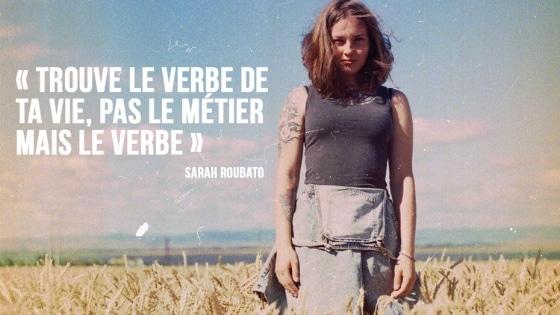 """""""Trouve le verbe de ta vie"""" par Sarah Roubato"""