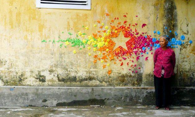 Mademoiselle Maurice repeint le monde en couleurs
