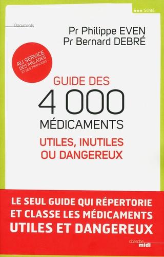 Guide des médicaments dangereux ou inutiles